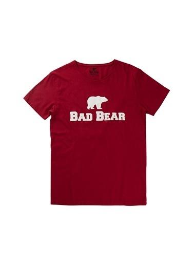 Bad Bear Erkek Tişört 190107002-Wht Kırmızı